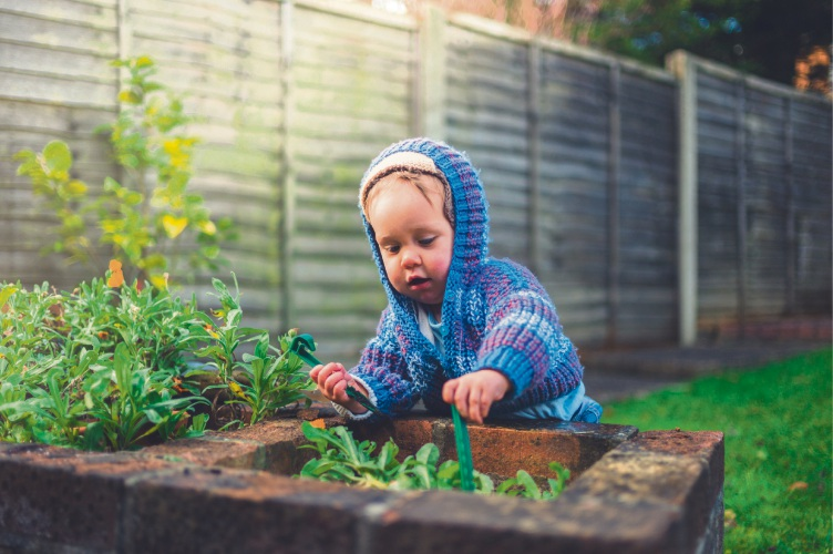 Winter gardening.