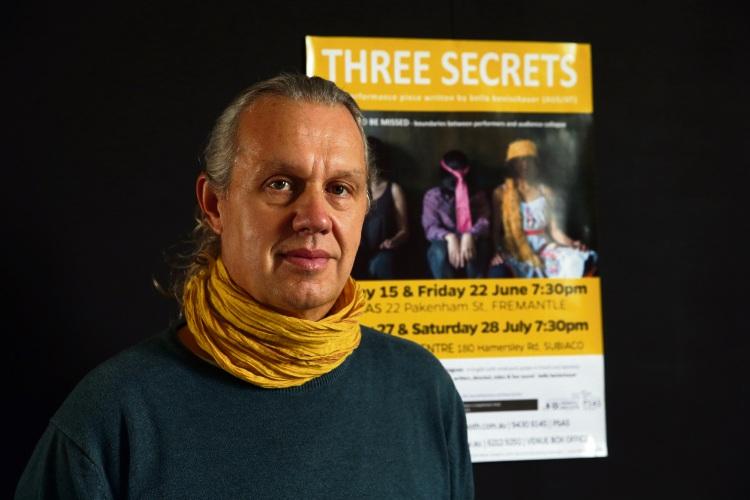 Fremantle artist Bello Benischauer's new production is Three Secrets. Martin Kennealey