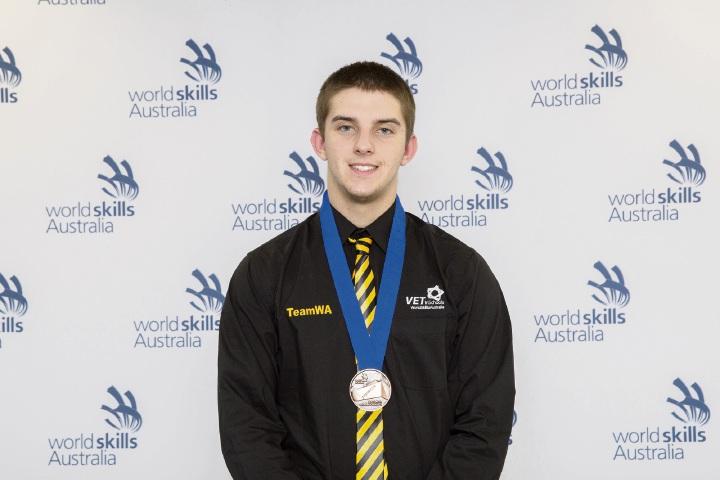 Joshua Semper at the WorldSkills National Championships.