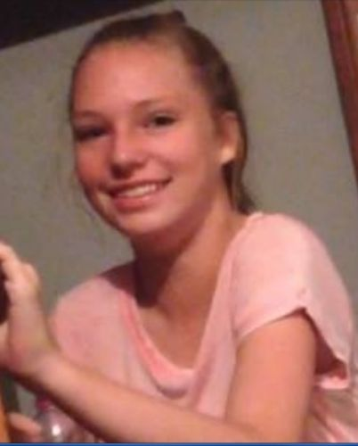 Missing 14-year-old Grace Hall.