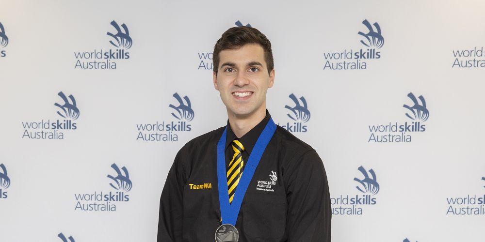 Nicholas Lozanovski. Picture: WorldSkills Australia
