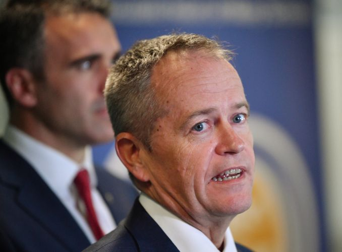 Bill Shorten is trying to woo WA voters. Photo: AAP