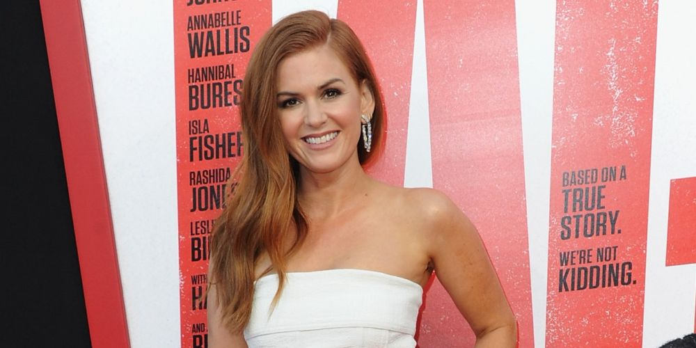 Isla Fisher. Getty Images.