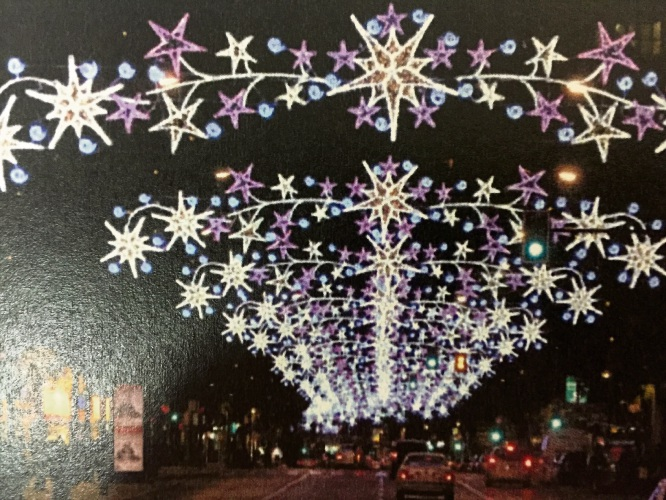 Lighting for future Mandurah Christmases could look like this.