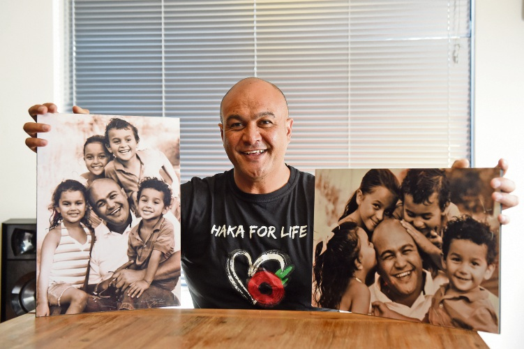 Haka For Life founder Leon Ruri says men have to learn to express themselves and talk about their feelings. Picture: Jon Hewson.