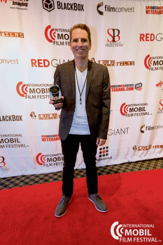 Brian Hennings recently won first place at the International Mobile Film Festival in San Diego.