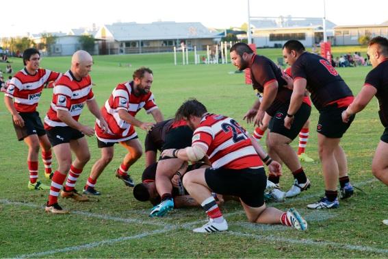 Rugby union: ARKS go down to Kalamunda in Premier Grade