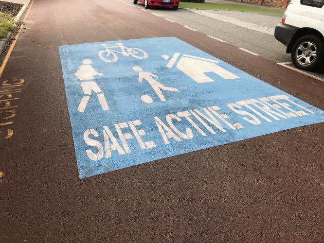 The City of Melville is progressing a Safe Active Street proposal in Ardross.