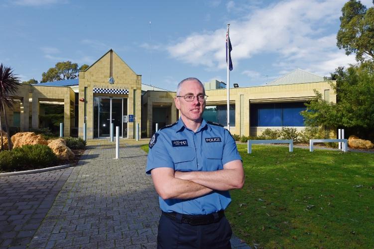 Senior Sergeant Darren Hart. Picture: Jon Hewson