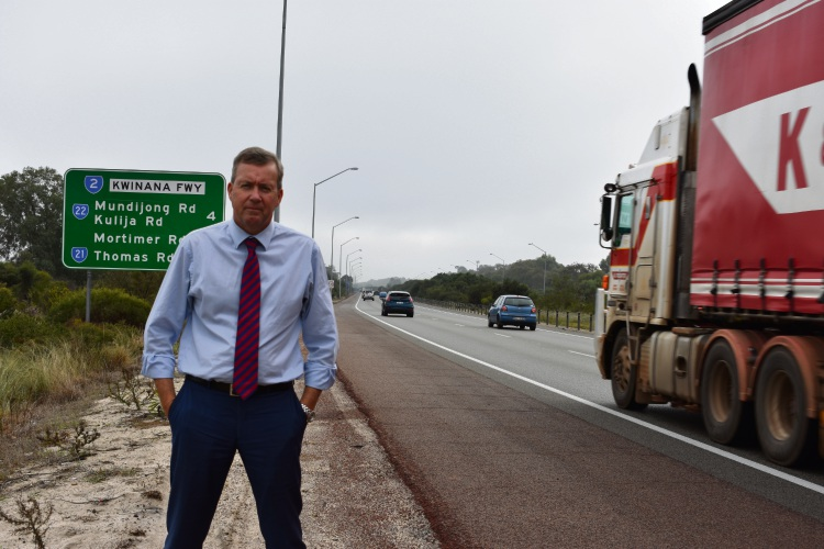 Baldivis MP Reece Whitby has welcomed the announcement that works will begin later this year on the heavily congested Kwinana Freeway.