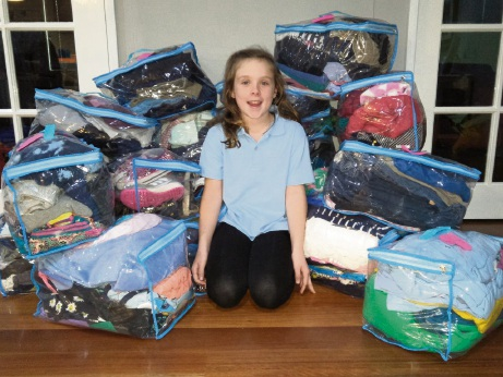 Bayswater Primary School student Abby Howes.