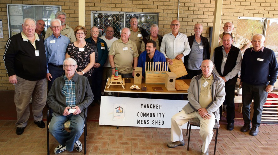 Men's Health Week was hosted by Yanchep Community Men's Shed. Pictures: Martin Kennealey  d483549