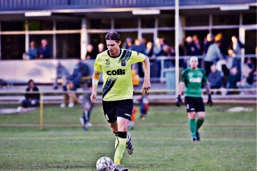 Bayswater City player Brent Griffiths. Photo: Jonny Warrington Photography