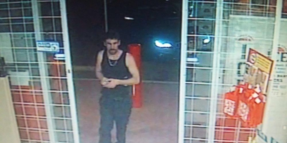 Police are on the hunt for a man with a mullet after a hit and run in West Perth on Saturday.