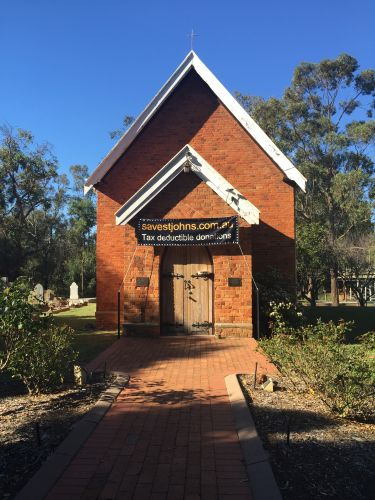 The Murray community has rallied to support a fundraising effort for historic St John's Church.