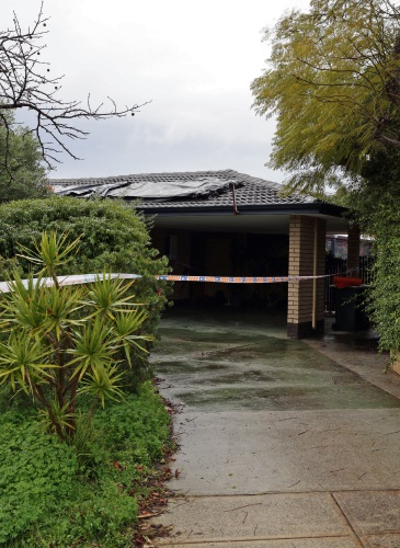 Greenwood house damaged by roof fire