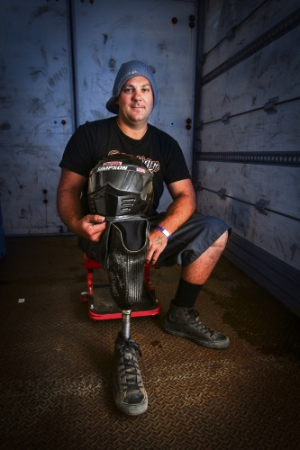 Kwinana drag racer wants to be the quickest amputee in the world