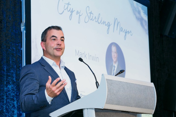 Stirling Mayor Mark Irwin.
