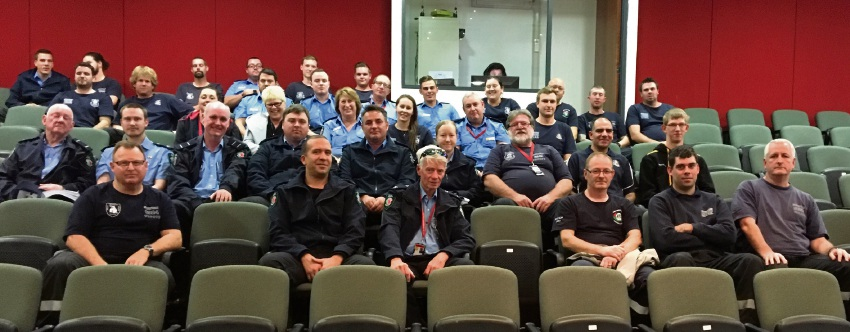 Volunteer firefighters turned out in force to support a longer memorandum of understanding between DFES and the City of Wanneroo.