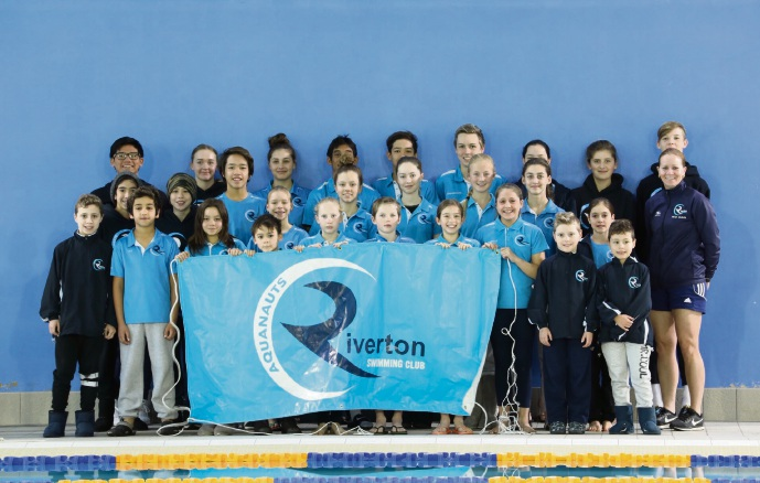 The Riverton Aquanauts team that competed at the recent Albany Short Course Carnival.