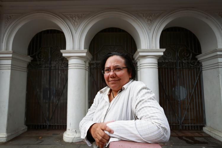 Perth playwright Barbara Hostalek.