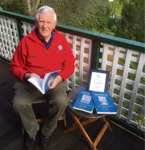 Glen Phillips at the KSP Writers' Centre in Greenmount.