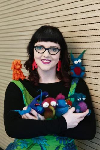 Artist Bonnie Boogaard. Picture: Andrew Ritchie www.communitypix.com.au d484320