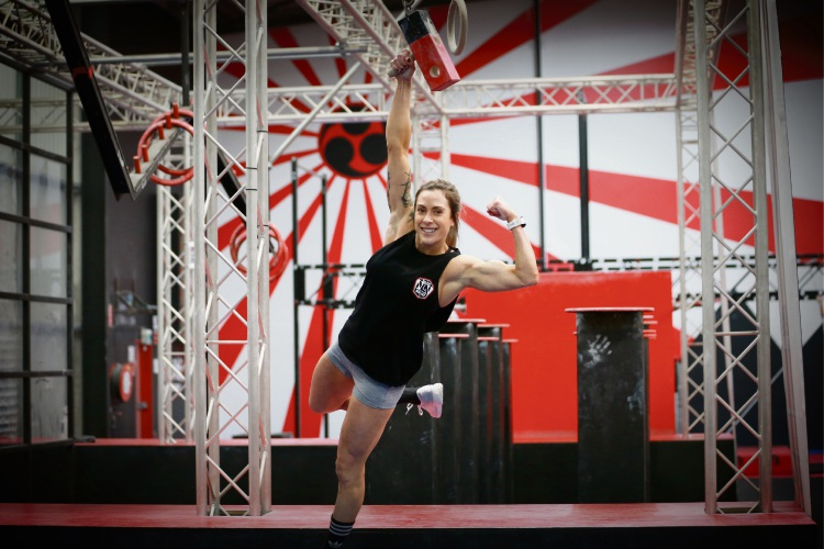 Teri Sergi (31) from Scarborough at the Channel Nine launch of the 2018 Australian Ninja Warrior. Picture: Andrew Ritchie.