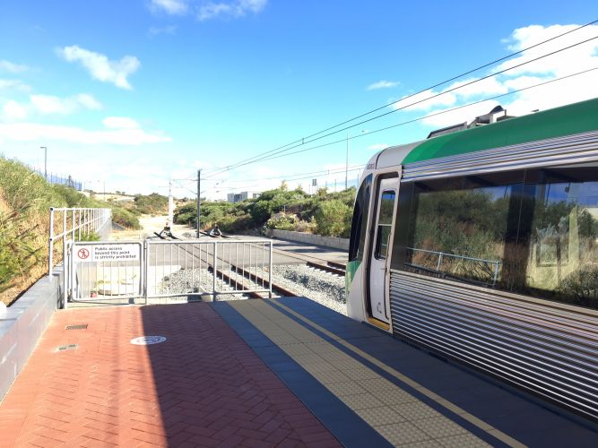 Joondalup Line trains cancelled between Joondalup and Butler on Saturday and platform changes
