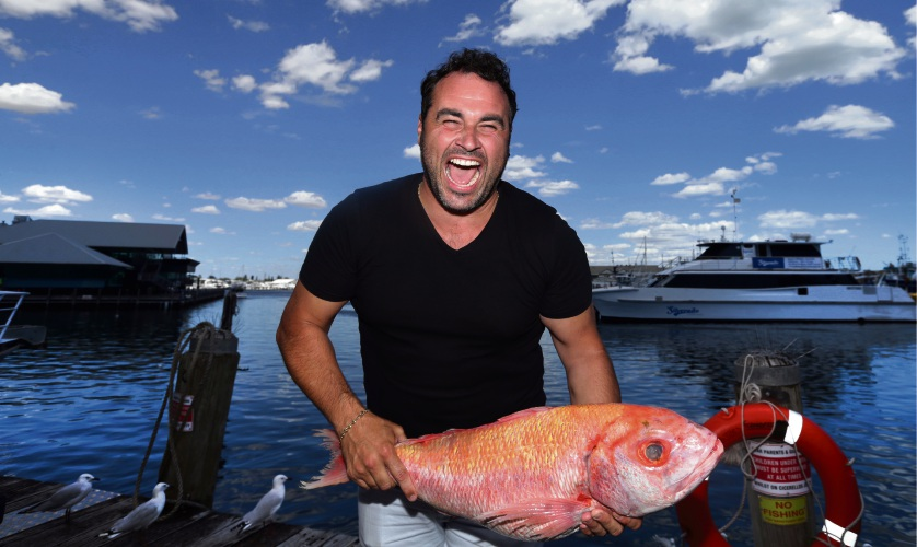 Celebrity chef Miguel Maestre (Spain). Picture: Martin Kennealey