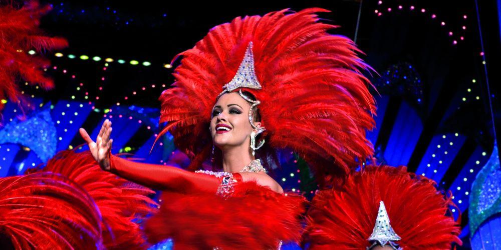 Jolene Slater in Moulin Rouge.