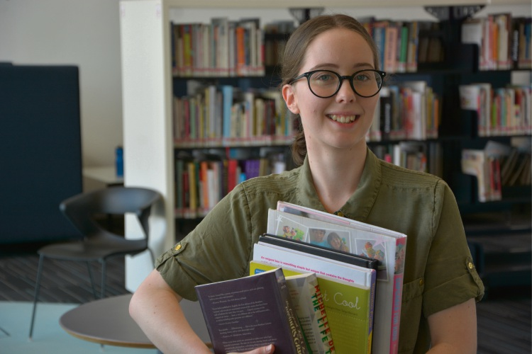Caitlyn Ryan (19), of Baldivis, won the Australian Library and Information Association (ALIA) Student Award for being the highest achieving graduating student from her Diploma of Library and Information Services course at North Metropolitan TAFE.