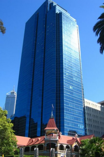 Exchange Tower in Perth.