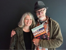 Claire Moodie and Bill Lawrie, authors of Freo Groove - Musicians of Fremantle.