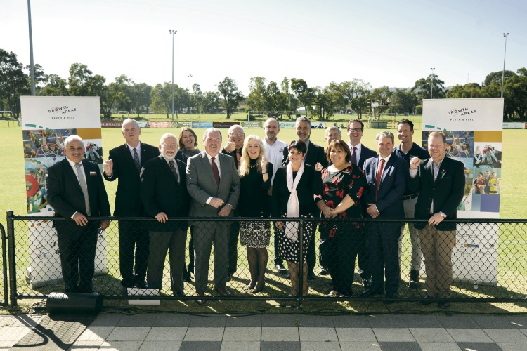 The Growth Area Perth and Peel group is calling for Federal funding to help build outer metropolitan regional sports facilities.