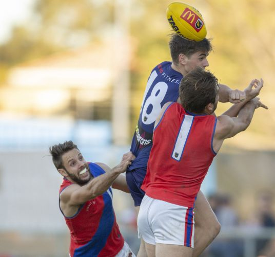 Blank canvas: West Perth has been without a major jumper sponsor this year. Picture: Dan White