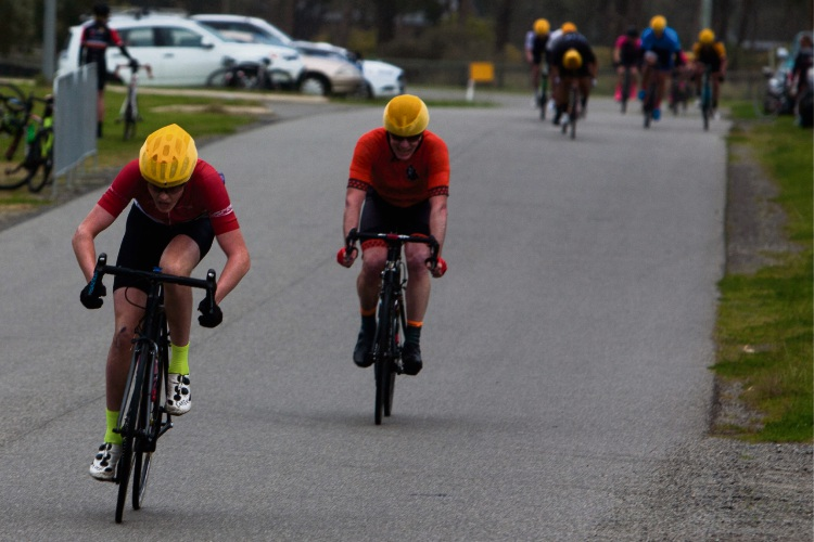 Peel District Cycling Club's race at Dog Hill circuit impacted by wild wind