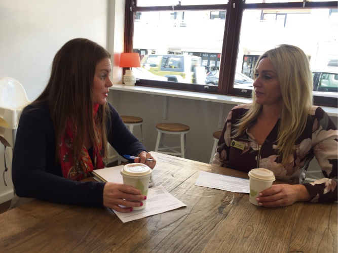 Editor Denise Cahill chats with Small Business Lounge founder Brooke Arnott