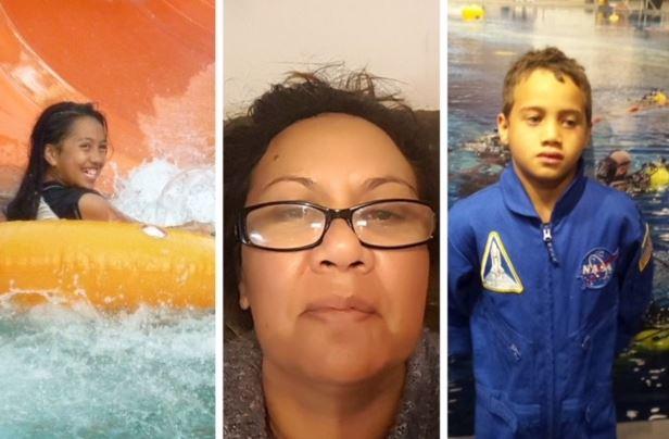 Bella, Michelle and Rua Petersen were murdered on July 14.
