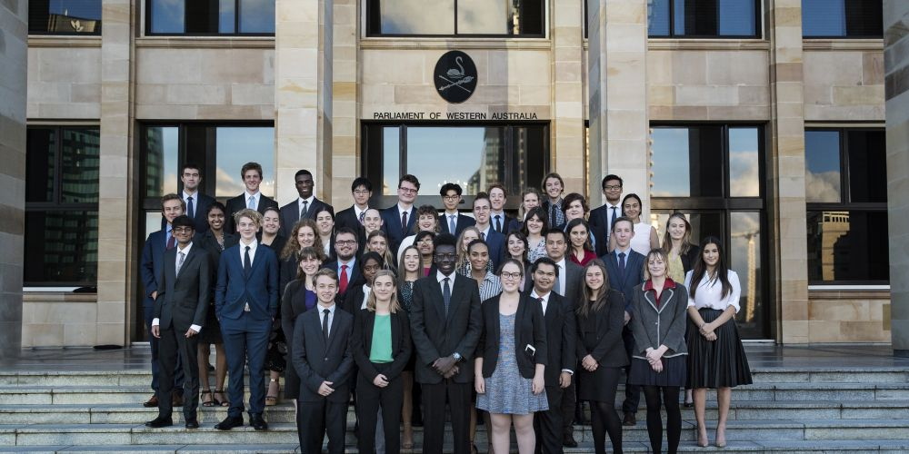 YMCA WA's 2018 Youth Parliament involved 59 young people.