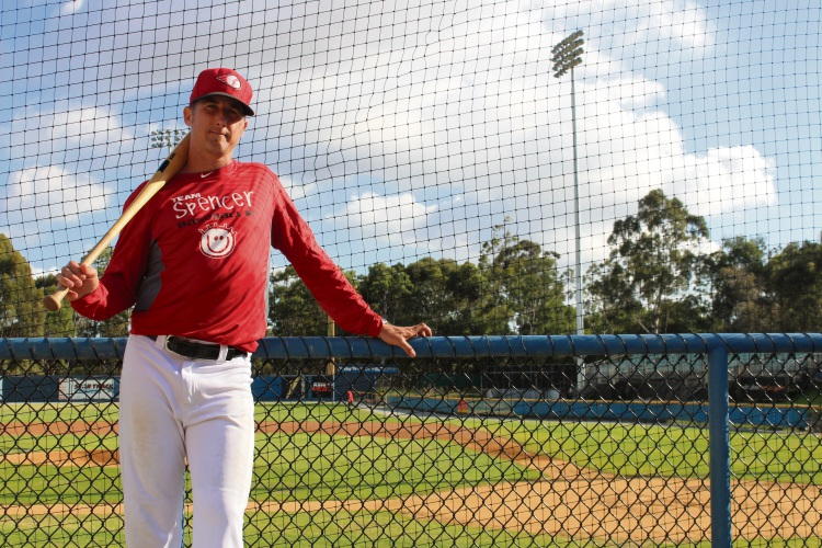 Perth Heat manager and Australia assistant coach Andy Kyle is hoping to help the national baseball team qualify for the 2020 Olympics. Photo: Ben Smith.