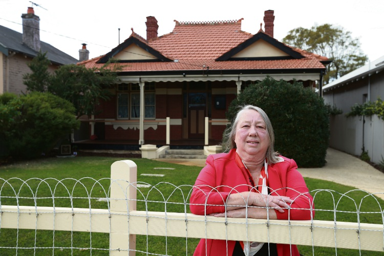 Anne Chapple  from Friends of Anzac Cottage. Picture: Andrew Ritchie