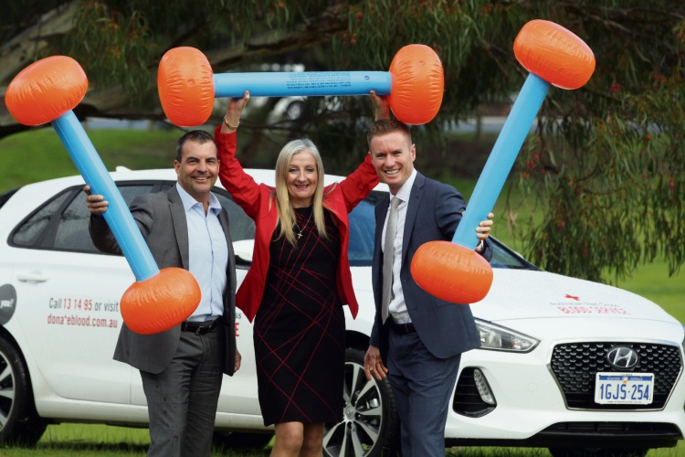 Mayors Mark Irwin, Tracey Roberts and Albert Jacob. Picture: Bruce Hunt