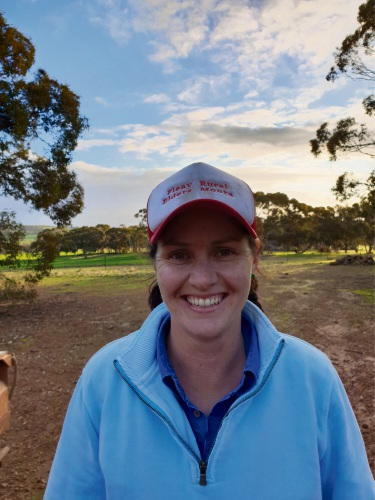 New Norcia's Rebecca Martin entered her kelpie in the 2018 Cobber Challenge.