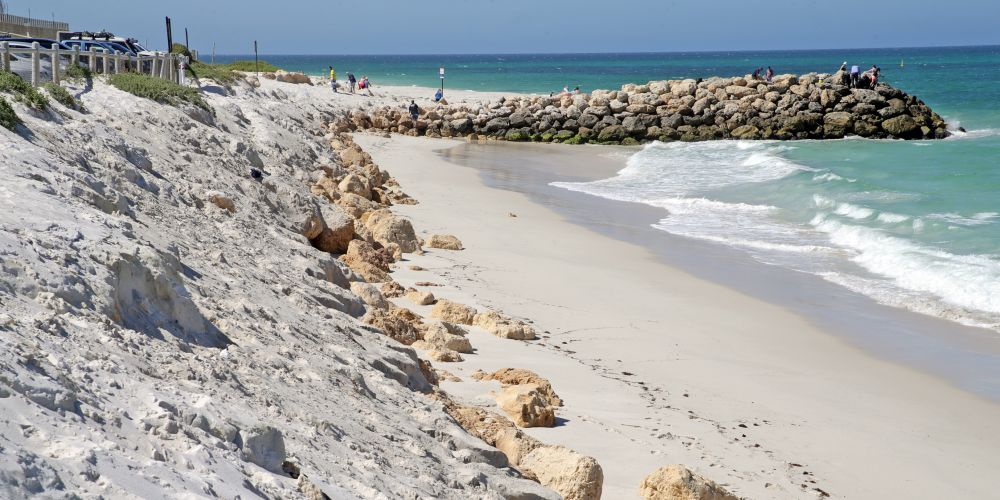 The City of Wanneroo will get $125,000 to replenish sand at Quinns Beach. (File image)