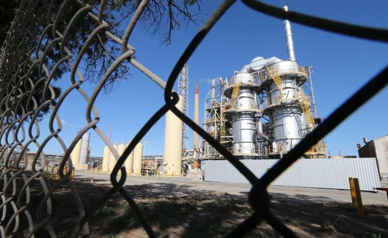 BHP Billiton's Nickel Refinery in Kwinana. Picture : Lincoln Baker/The West Australian.