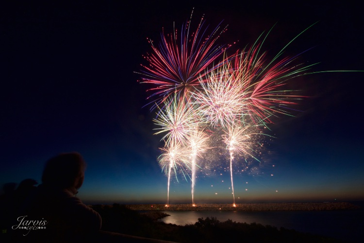 Thousands of people attended the 2017 Mindarie Marina New years Eve fireworks. Picture: Jarvis Eyes