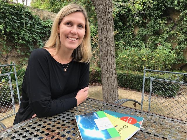 UWA guest lecturer Laura Keenan: