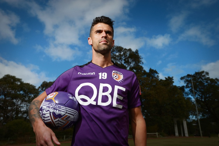 Perth Glory portuguese winger Fabio Ferreira to come up against Chelsea Football Club