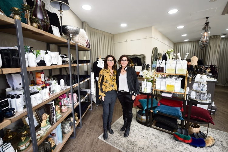 Teresa Rovedatti and Luisa Audino have opened a second Lulu & I store in Applecross. Picture: Jon Hewson